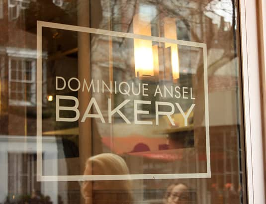 DOMINIQUE ANSEL BAKERY 189 Spring Street, New York City