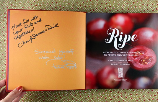 Celebrating Color with Ripe: A Fresh Colorful Approach to Fruits and Vegetables {Win a signed copy of the book!}