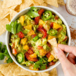 Chunky Citrus Guacamole // FoodNouveau.com