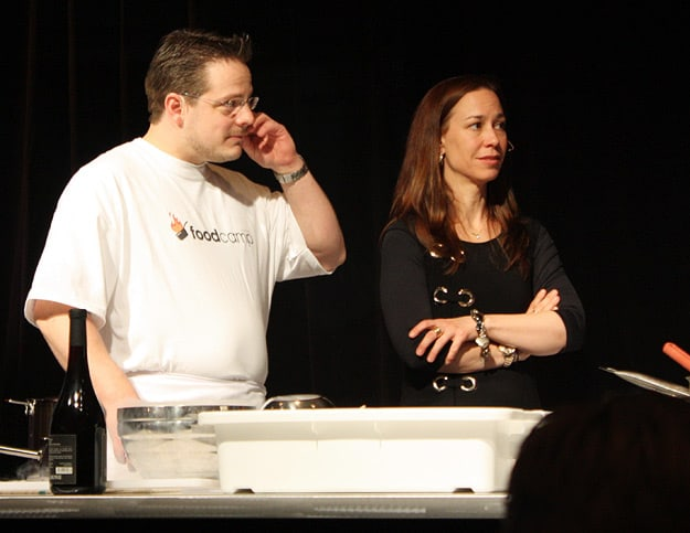 La Tanière's Chef Frédéric Laplante and his partner-owner, Karen Therrien.