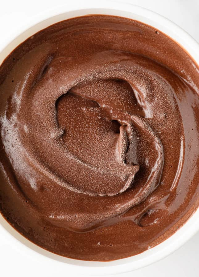 Dark Chocolate Gelato // FoodNouveau.com