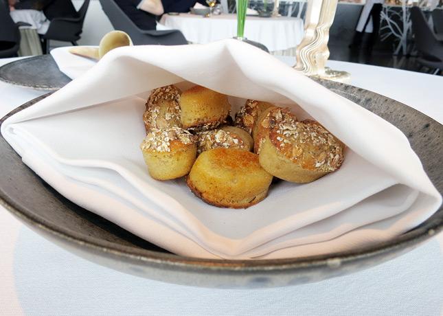 Bread with emmer & spelt, at Geranium Restaurant, Copenhagen / FoodNouveau.com