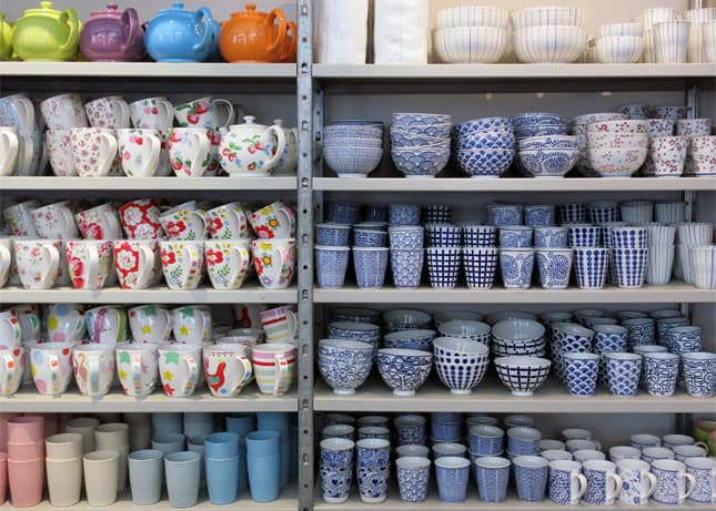 Notre Dame, a kitchen, craft and design store in Copenhagen, Denmark / FoodNouveau.com