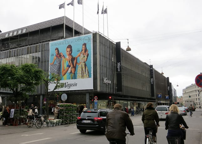 Magasin, a large department store with a fantastic gourmet food floor in Copenhagen, Denmark / FoodNouveau.com