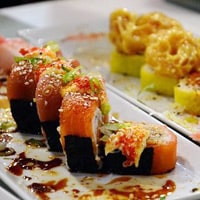 Sushi from Willoughby's & Co, Mary Lamontagne's favorite dish in Cape Town, South Africa. / FoodNouveau.com