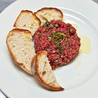 Steak Tartare, David Dadekian's favorite dish in Providence, Rhode Island / FoodNouveau.com