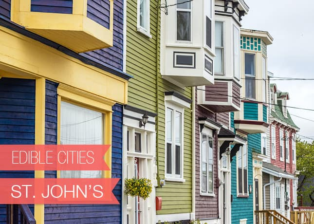 {Edible Cities} St. John's, Newfoundland with Charmian Christie, from Christie's Corner