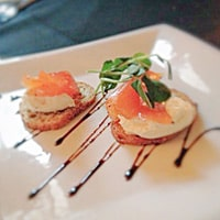 Cured Newfoundland trout, one of Charmian Christie's favorite dishes in St. John's, Newfoundland / FoodNouveau.com