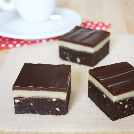 Marzipan Brownies // FoodNouveau.com