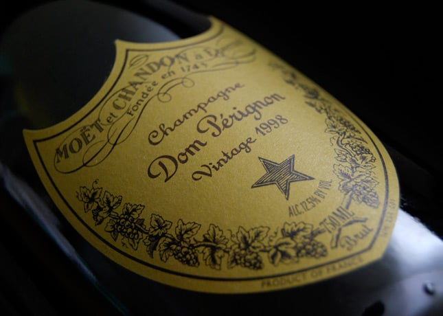 A bottle of Dom Pérignon, Vintage 1998 // Photo by Christina B. Castro, via Flickr Creative Commons // FoodNouveau.com