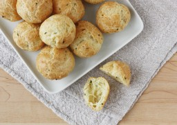 How to Make Gougères {Cheese Puffs!}, a Step-By-Step Recipe with Flavor Variations