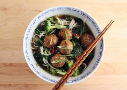 Ginger, Sesame and Coriander Meatballs