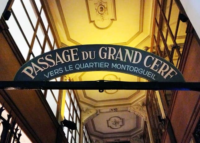 A Hidden Gem in Paris: Le Passage du Grand Cerf // FoodNouveau.com