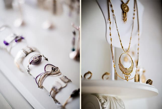 Satellite, a boutique selling intricate, bohemian-inspired jewelry in Le Passage du Grand Cerf, Paris. Photo (c) Satellite. // FoodNouveau.com