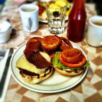 Burgers from The Park City, one of Renee Kohlman's favorite dishes in Saskatoon, Canada // FoodNouveau.com