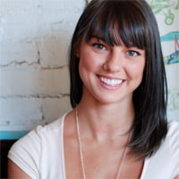 Erica Scime, writer and blogger on The Starved Writer // FoodNouveau.com