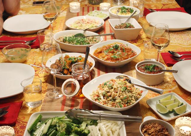A Burmese feast // FoodNouveau.com