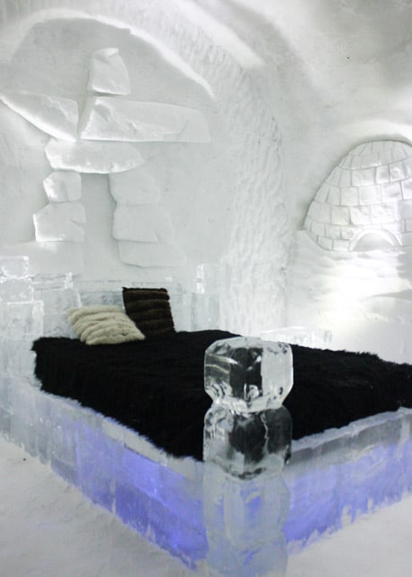 Ice Hotel, Quebec City: A Guest Suite // FoodNouveau.com