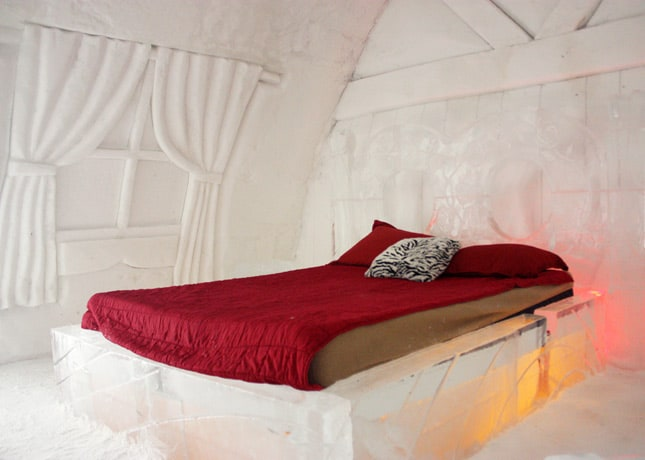 Ice Hotel, Quebec City: A Guest Room // FoodNouveau.com