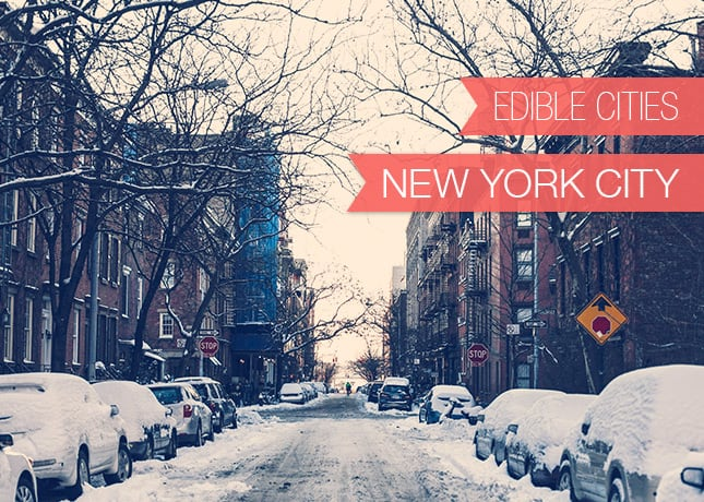 {Edible Cities} New York City, with Erick and Emily from Home, a Sandwich Shoppe // FoodNouveau.com