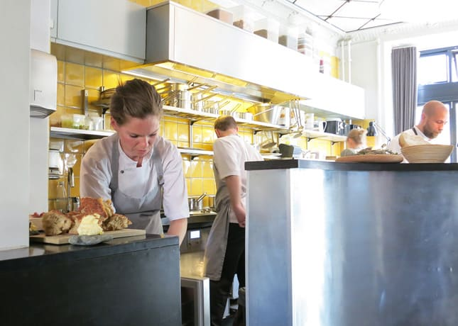 Chefs working at Kadeau Restaurant, Copenhagen // FoodNouveau.com