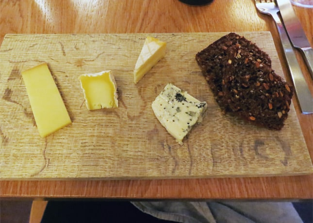 Danish cheese board, Kadeau, Copenhagen // FoodNouveau.com