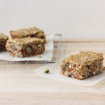 Chewy Nut and Fruit Packed Granola Bars // FoodNouveau.com
