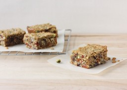 Chewy Nut and Fruit Packed Granola Bars