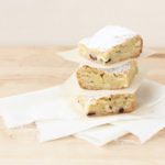 White Chocolate & Hazelnut Blondies // FoodNouveau.com