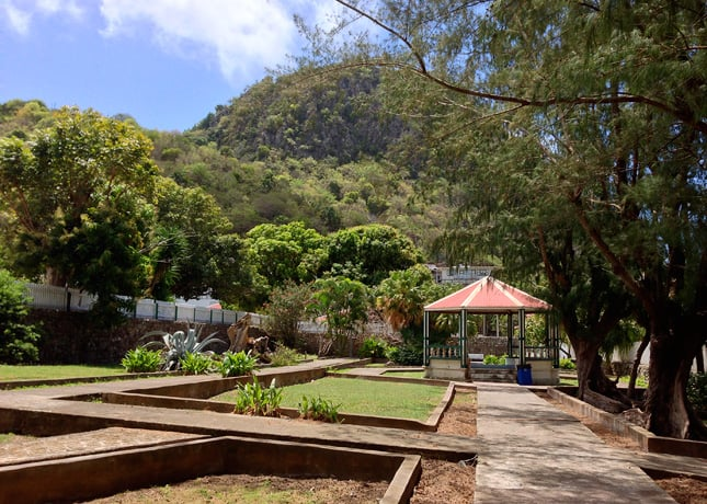A park in The Bottom, Saba // FoodNouveau.com