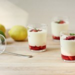 Citrus Mousse with Macerated Strawberries // FoodNouveau.com