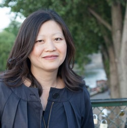 Ann Mah, author of Mastering the Art of French Eating - Photo by Katia Grimmer-Laversanne // FoodNouveau.com