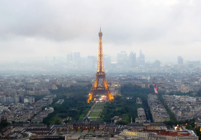 Paris on a cloudy day // FoodNouveau.com