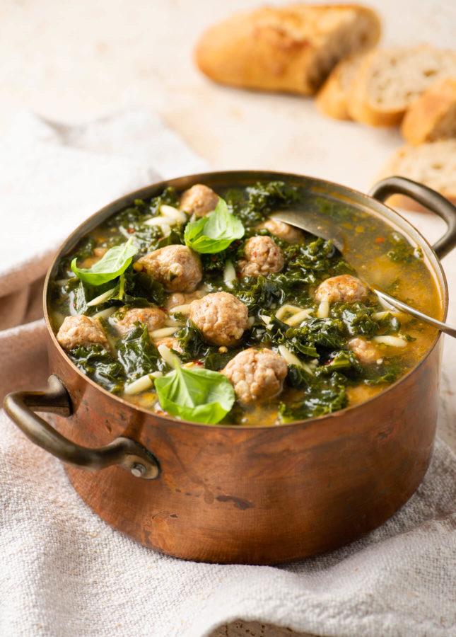 Easy Italian Wedding Soup // FoodNouveau.com