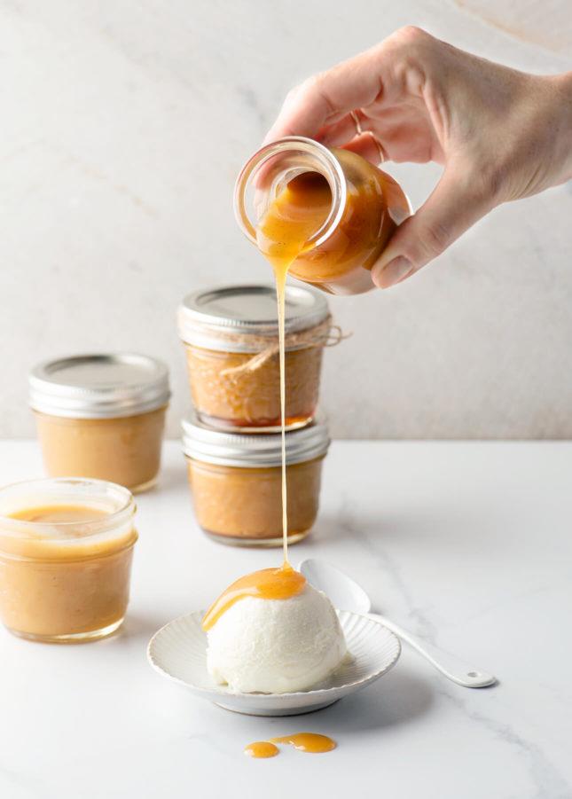 How to Make Homemade Butterscotch Sauce // FoodNouveau.com