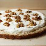 Maple Walnut Cream Tart // FoodNouveau.com