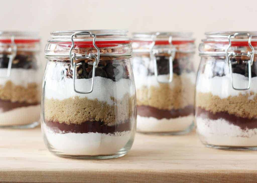 Brownies In A Jar The Perfect Diy Gift For Sweet Lovers Food