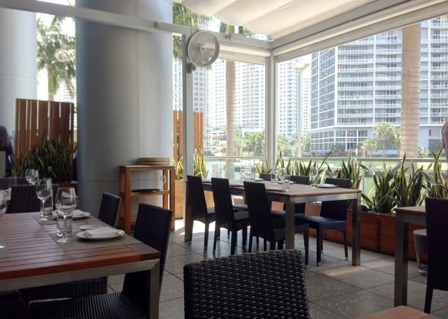 The Terrace at Zuma Miami // FoodNouveau.com