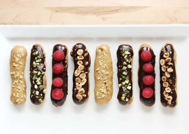 How to Make Chocolate Éclairs // FoodNouveau.com