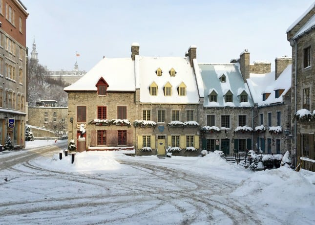 Place Royale, the exact location where Quebec City was founded in 1608 // FoodNouveau.com
