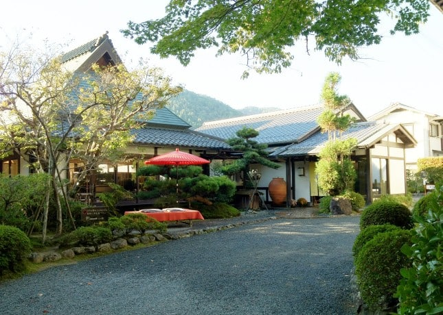 Seryo, a ryokan (Japanese inn) in the Ohara region of Japan, an hour north of Kyoto. // FoodNouveau.com