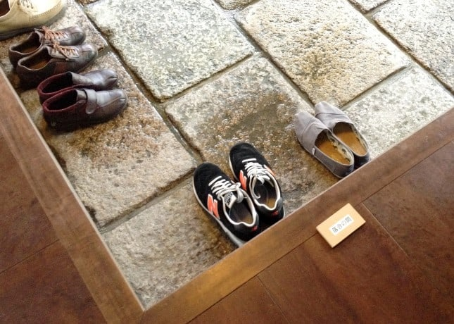 Guests must keep their shoes off throughout their stay at a ryokan (Japanese inn) // FoodNouveau.com