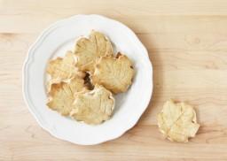 Homemade Maple Leaf Cookies
