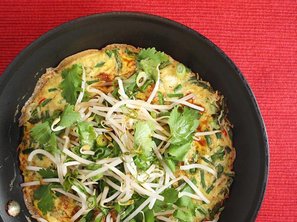 Crisp Rice Omelet // FoodNouveau.com