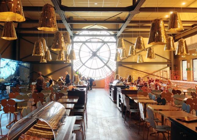 Musée d'Orsay's Café Campana, Paris // FoodNouveau.com