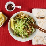 Malaysian Fried Noodles with Tofu, Green Beans and Bok Choy (Mee Goreng) // FoodNouveau.com