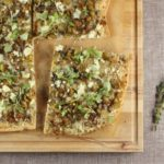Roasted Eggplant, Feta, and Za'atar Pizza // FoodNouveau.com