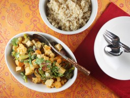 Quick and Easy Vegetarian Weeknight Curry