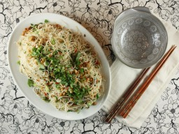 Peanut and Coriander Noodles