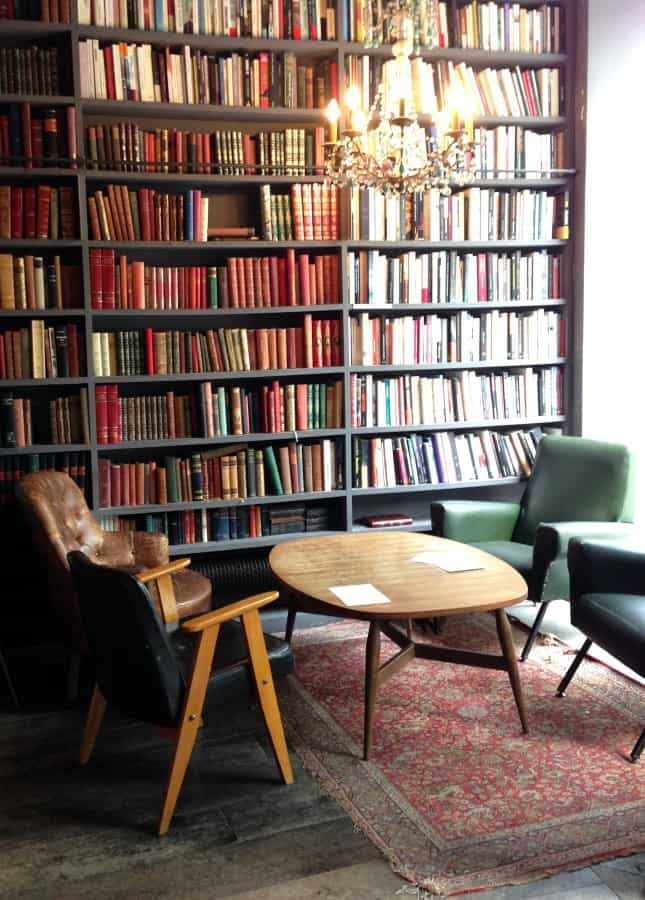 The Used Book Café at Merci, Paris // FoodNouveau.com